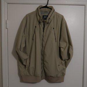 Tan mid-weight windbreaker jacket XXL